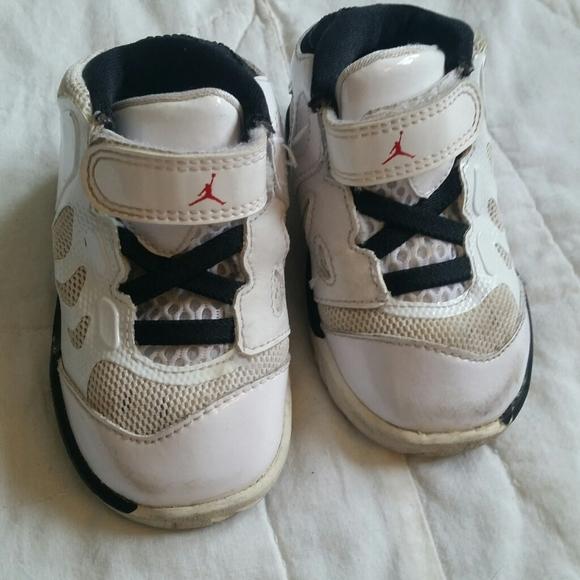 Air Jordans 4.5C Infant White Baby Shoes Sneakers